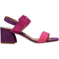 Buty Damskie Sandały Grace Shoes 855015 Fioletowy