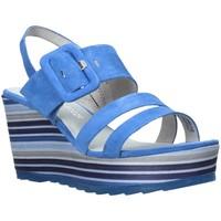 Buty Damskie Sandały Marco Tozzi 2-2-28336-26 Niebieski