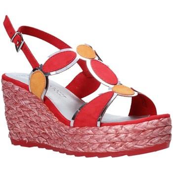 Buty Damskie Sandały Marco Tozzi 2-2-28342-26 Czerwony