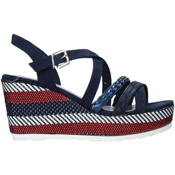 Buty Damskie Sandały Marco Tozzi 2-2-28375-26 Niebieski