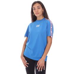 tekstylia Damskie T-shirty z krótkim rękawem Colmar 4103 6SH Niebieski