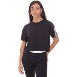 tekstylia Damskie T-shirty z krótkim rękawem Colmar 8652 6SH Niebieski