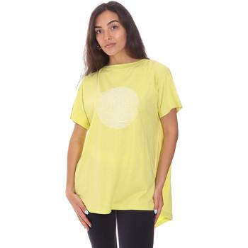 tekstylia Damskie T-shirty z krótkim rękawem Colmar 8606 6SH Zielony