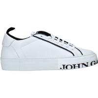 Buty Męskie Trampki niskie John Galliano 11012/CP C Biały