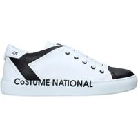 Buty Męskie Trampki wysokie Costume National 10426/CP B Biały
