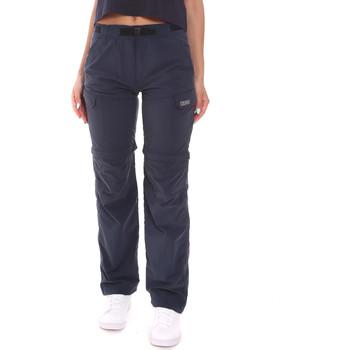 tekstylia Damskie Spodnie z lejącej tkaniny / Alladynki Colmar 0661 6RK Niebieski