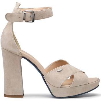 Buty Damskie Sandały Alberto Guardiani AGW002700 Beżowy