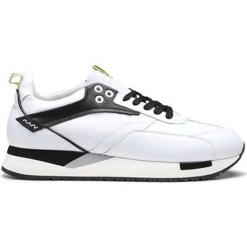 Buty Męskie Trampki niskie Alberto Guardiani AGU101155 Biały