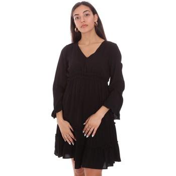 tekstylia Damskie Sukienki krótkie Fracomina FR21SD1047W41801 Czarny