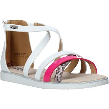Buty Dziewczynka Sandały Miss Sixty S20-SMS768 Biały
