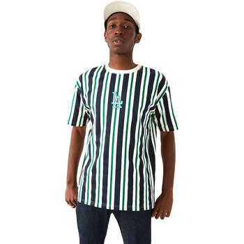 tekstylia Męskie T-shirty z krótkim rękawem New-Era 12720146 Niebieski