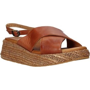 Buty Damskie Sandały Sshady L2410 Brązowy