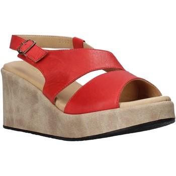 Buty Damskie Sandały Sshady L2502 Czerwony