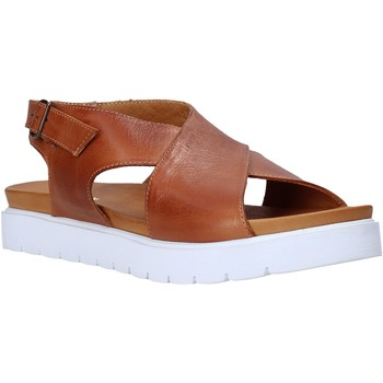 Buty Damskie Sandały Sshady L2301 Brązowy
