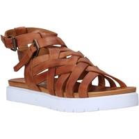 Buty Damskie Sandały Sshady L2306 Brązowy