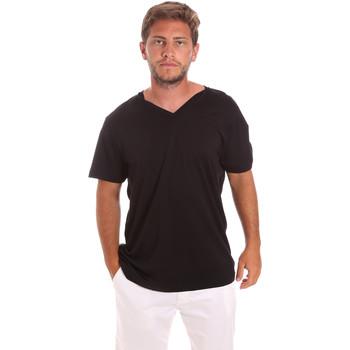tekstylia Męskie T-shirty z krótkim rękawem Colmar 7521 6SS Czarny