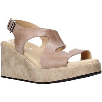Buty Damskie Sandały Sshady L2505 Brązowy