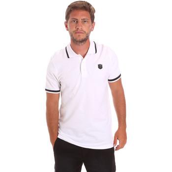 tekstylia Męskie Koszulki polo z krótkim rękawem Roberto Cavalli FST697 Biały