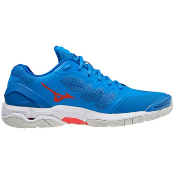 Buty Buty halowe Mizuno Chaussures  Wave Stealth V bleu/blanc/rouge