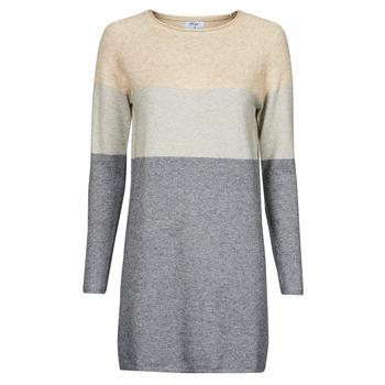 tekstylia Damskie Sukienki krótkie Betty London PIMPA Różowy / Szary