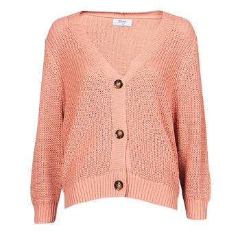 tekstylia Damskie Swetry rozpinane / Kardigany Betty London POUPEE Różowy