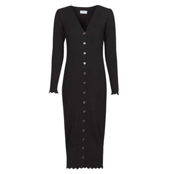 tekstylia Damskie Sukienki długie Betty London PIKKI Czarny