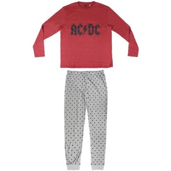 tekstylia Męskie Piżama / koszula nocna Ac/dc 2200004849 Rojo