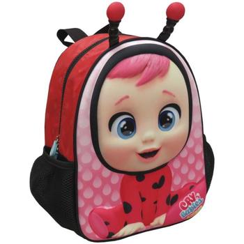 Torby Dziewczynka Plecaki Bebes Llorones MC-201-CR Rosa