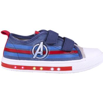 Buty Chłopiec Trampki niskie Capitan America 2300004712 Azul