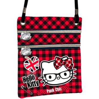 Torby Damskie Torby na ramię Hello Kitty 41563 Rojo