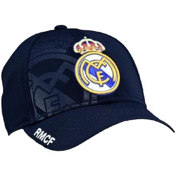 Dodatki Męskie Czapki z daszkiem Real Madrid RM3GO12 NAVY Azul