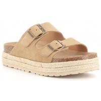 Buty Dziewczynka Klapki Obi Shoes 3052 Beige