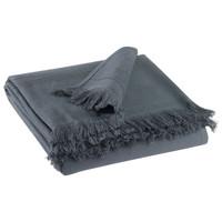 Dom Ręcznik i rękawica kąpielowa Vivaraise CANCUN Szary / Shaded