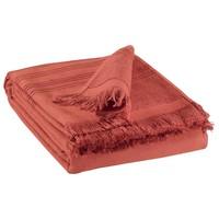 Dom Ręcznik i rękawica kąpielowa Vivaraise CANCUN Czerwony