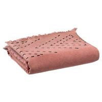 Dom Ręcznik i rękawica kąpielowa Vivaraise JULIA Różowy / Blush