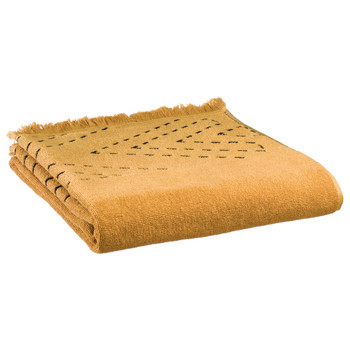 Dom Ręcznik i rękawica kąpielowa Vivaraise JULIA Brąz