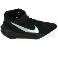 Buty Dziecko Koszykówka Nike Team Hustle D 10 Flyease Jr Noir Blanc DD7303-004 Czarny