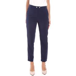 tekstylia Damskie Spodnie Gaudi 111BD25029 Niebieski