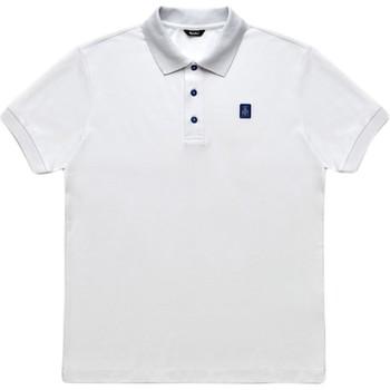 tekstylia Męskie Koszulki polo z krótkim rękawem Refrigiwear RM0T19001PX9032 Biały