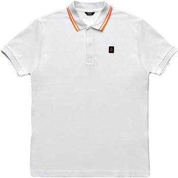 tekstylia Męskie Koszulki polo z krótkim rękawem Refrigiwear RM0T24000PX9032 Biały