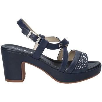 Buty Damskie Sandały Valleverde 32501 Niebieski