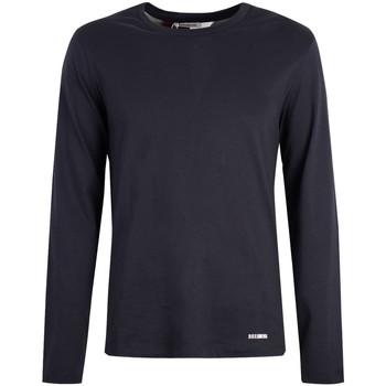 tekstylia Męskie T-shirty z długim rękawem Bikkembergs  Niebieski