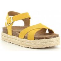 Buty Dziewczynka Sandały Obi Shoes PALA CRUZADA jaune