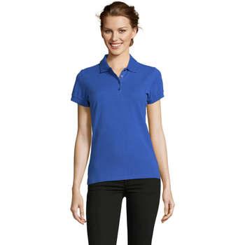 tekstylia Damskie Koszulki polo z krótkim rękawem Sols PEOPLE POLO MUJER Azul