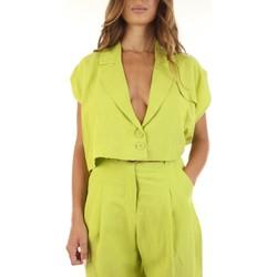 tekstylia Damskie Swetry rozpinane / Kardigany Haveone 92767734 Zielony