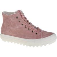 Buty Damskie Trampki wysokie Big Star Shoes Big Top Różowy
