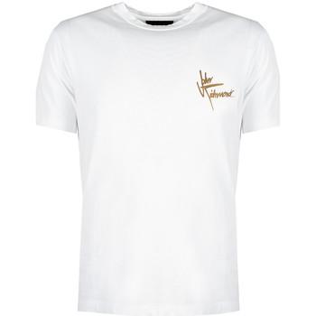 tekstylia Męskie T-shirty z krótkim rękawem John Richmond  Biały