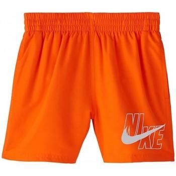 tekstylia Chłopiec Kostiumy / Szorty kąpielowe Nike BAÑADOR NIÑO  NESSA771 Pomarańczowy