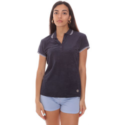 tekstylia Damskie Koszulki polo z krótkim rękawem Colmar 8733 2TQ Niebieski