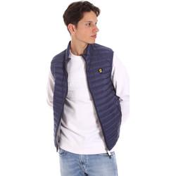 tekstylia Męskie Swetry rozpinane / Kardigany Ciesse Piumini 215CFMV11394 N021D0 Niebieski